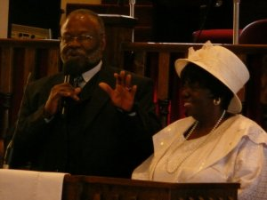 My dear sweet parents: Reverend Dr. Carson and Bonnie Wise