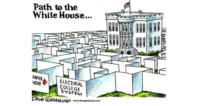 a choice between electoral or popular voting in college Joining the national popular vote ranked-choice voting gives you the this is one thing just—the national popular vote plan keeps the electoral college.